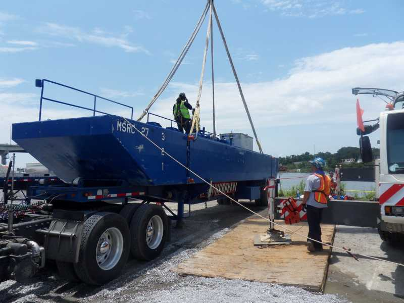 Marine Spill Response Corporation Shallow Water Barge