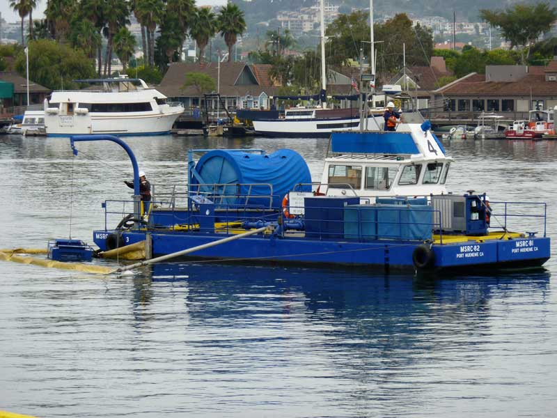 Marine Spill Response Corporation: Shallow Water Barges